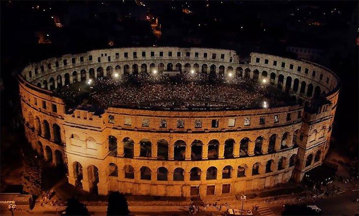 Istria Pula Arena - Istria Itinerary