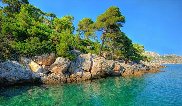 Lokrum Island - Dubrovnik Croatia