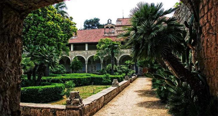 Lokrum Monastery - Dubrovnik Croatia