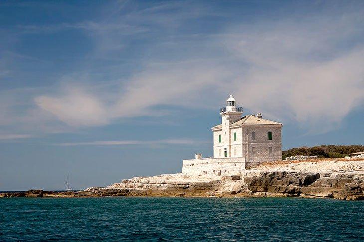 Brijuni Croatia - Lighthouse