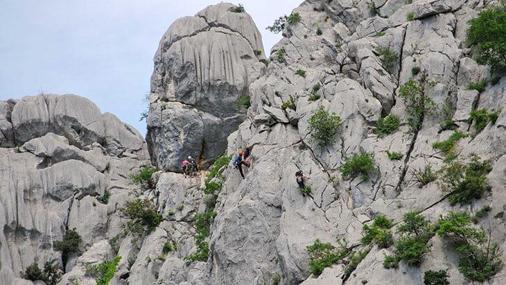 Climbing Paklenica