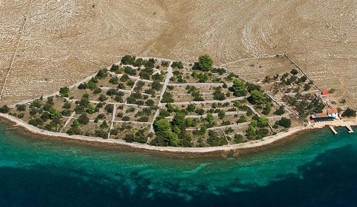 Kornati Croatia Stone walls