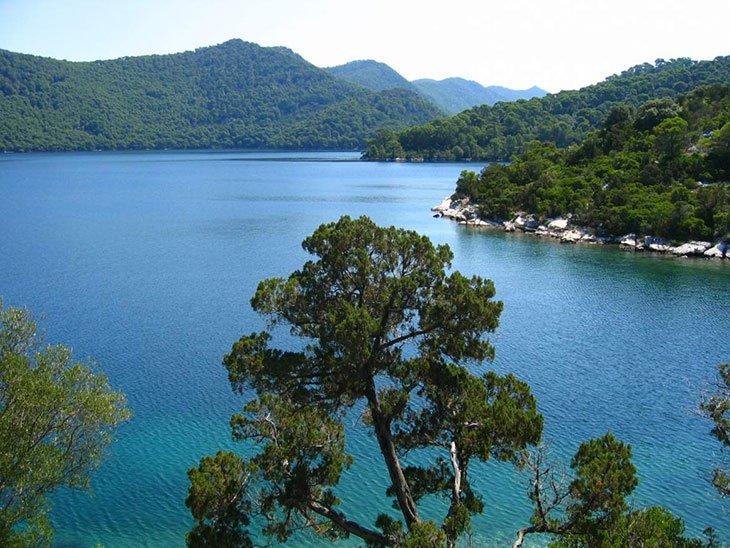 Scenic Mljet Island Croatia