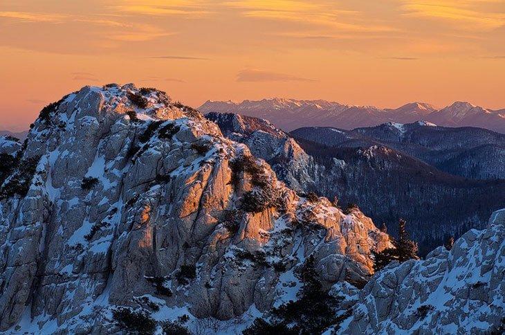 Northern Velebit Winter