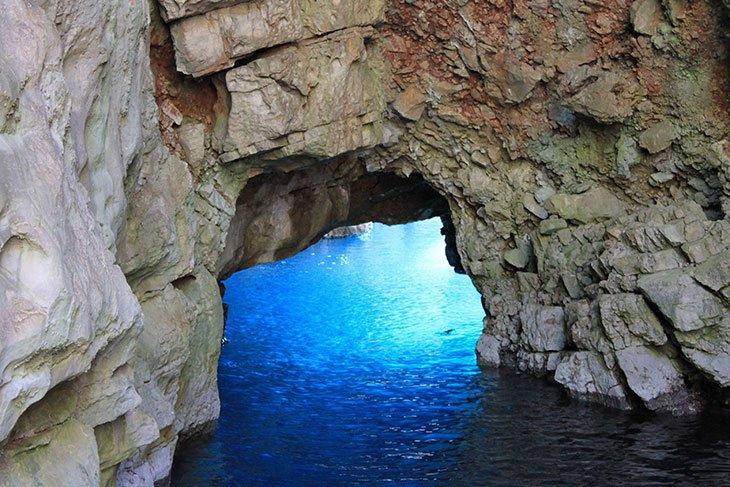 Odyssey's Cave Mljet Island