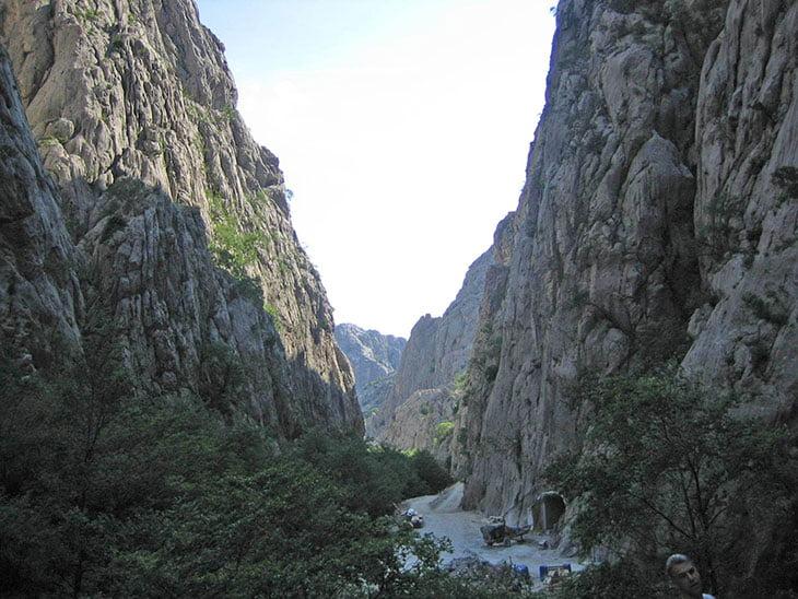 Paklenica Climbing Rock