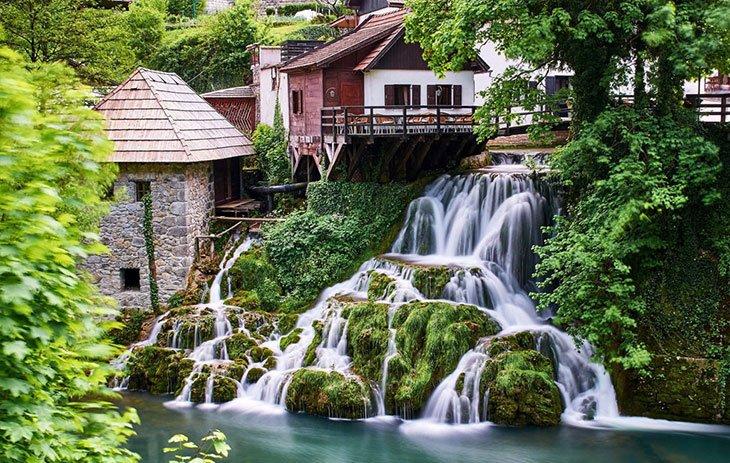 Rastoke Vullake - Plitvice lakes