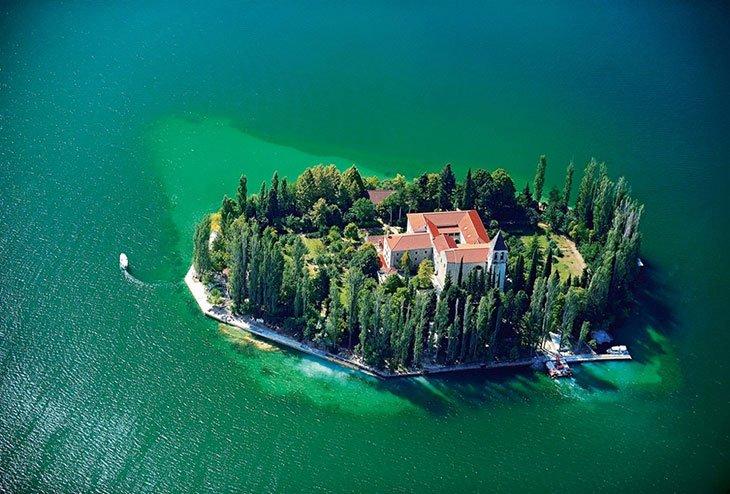 Visovac Island - Croatia